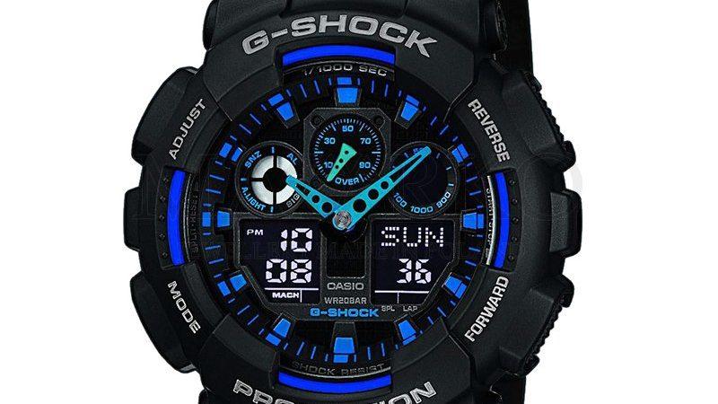 Casio sportowy model zegarka GA100